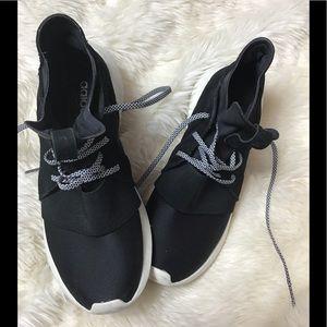 Adidas tubular black high top sneakers size 8.5